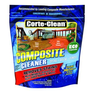 Reviews - CORTE-CLEAN COMPOSITE DECK DOCK FENCE CLEANER mold